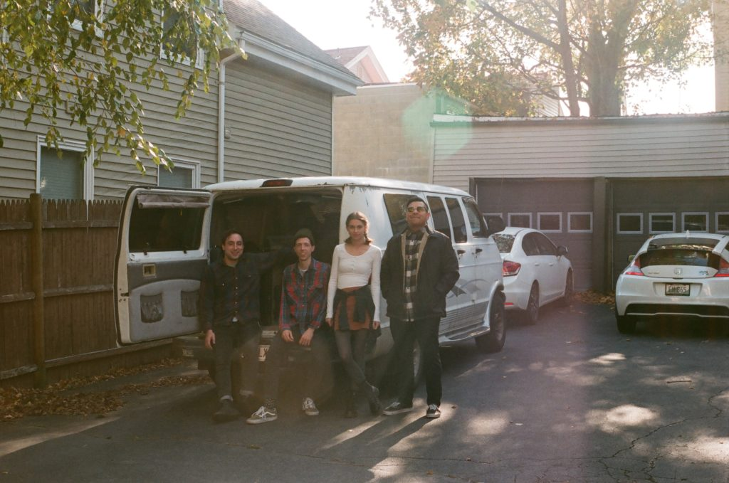 john and i wish i could skateboard chillin by the packed tour van